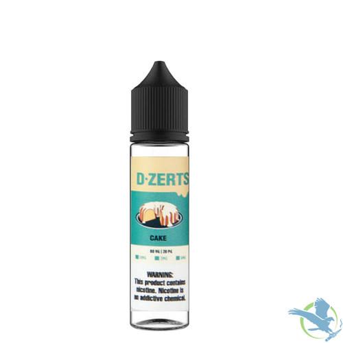 D-Zerts E-Liquid 60ML - Cake