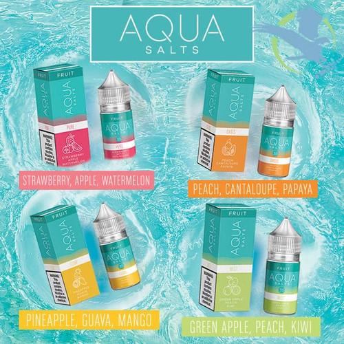 Aqua Salts Nicotine Salt E-Liquid 30ML
