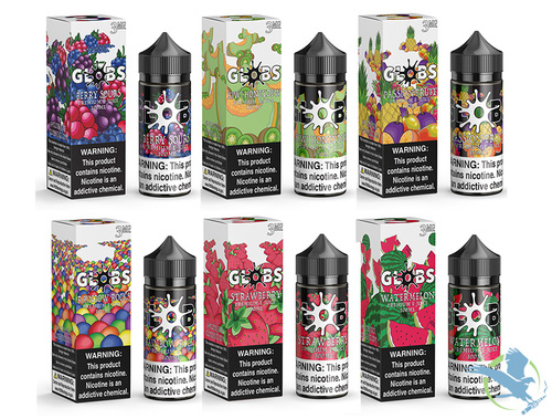 Globs Juice Collection E-Liquid 100ML