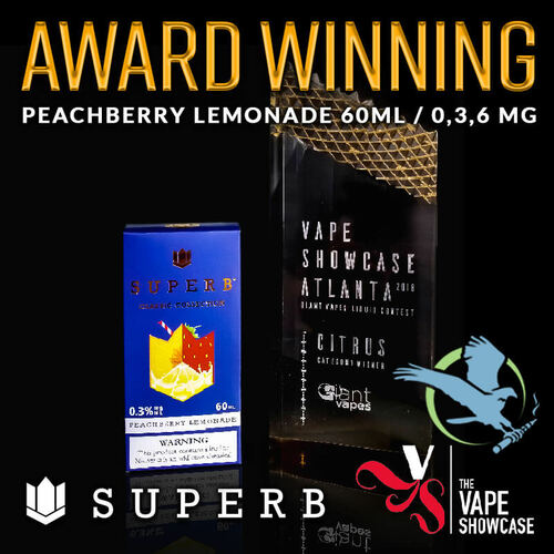 Superb Classic Collection E-Liquid 60ML *Drop Ships* (MSRP $20.00)