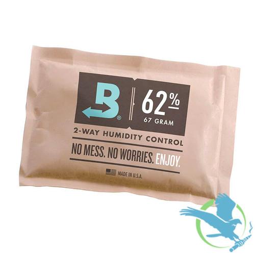 Boveda 62% Humidity Control Pack - 67 Grams - Single (MSRP $7.00)