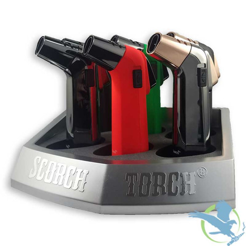Scorch Torch 45 Degree 2T Turbo - Assorted Colors - Display Of 6 [61529-1]