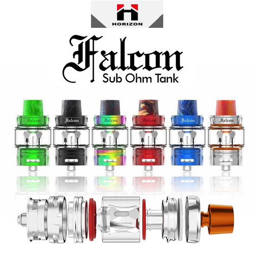 HorizonTech Falcon 7ML Sub-Ohm Tank With Bulb Glass