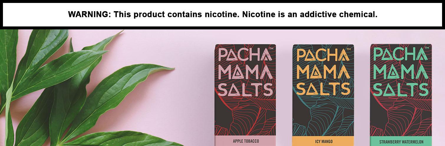 Pachamama Salts Nicotine Salt E-Liquid By Charlie's Chalk Dust  30ML