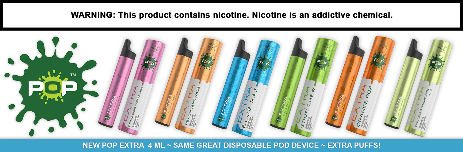 Pop Hit Extra Disposable Ecig Device