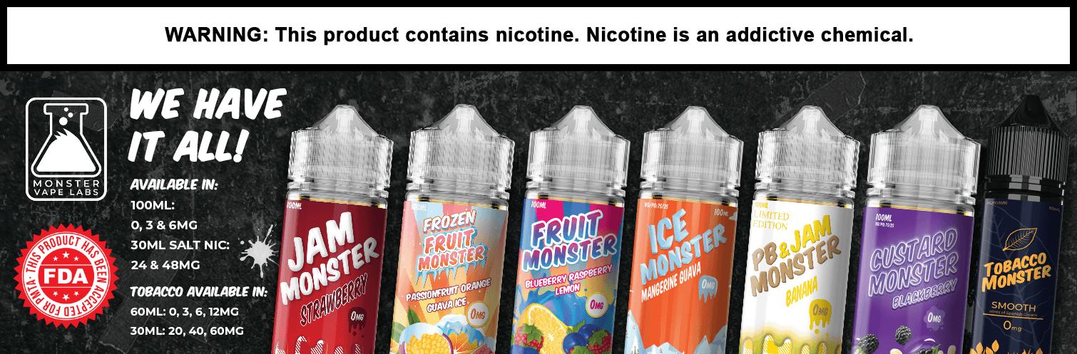 Monster Vape Labs E-Juice