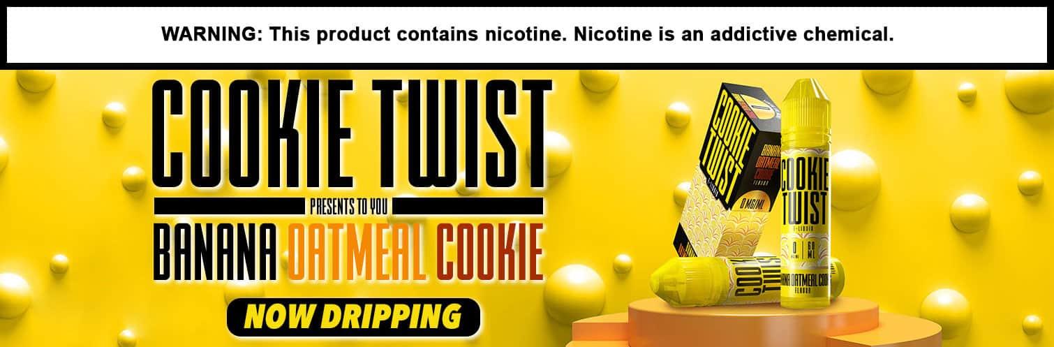 Cookie Twist banana Oatmeal Cookie 120ml