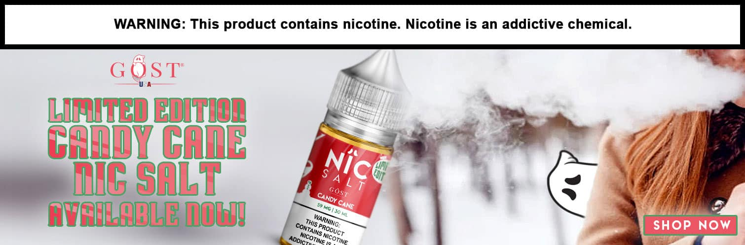 GOST nic salt candy cane limited 30ml Wholesale
