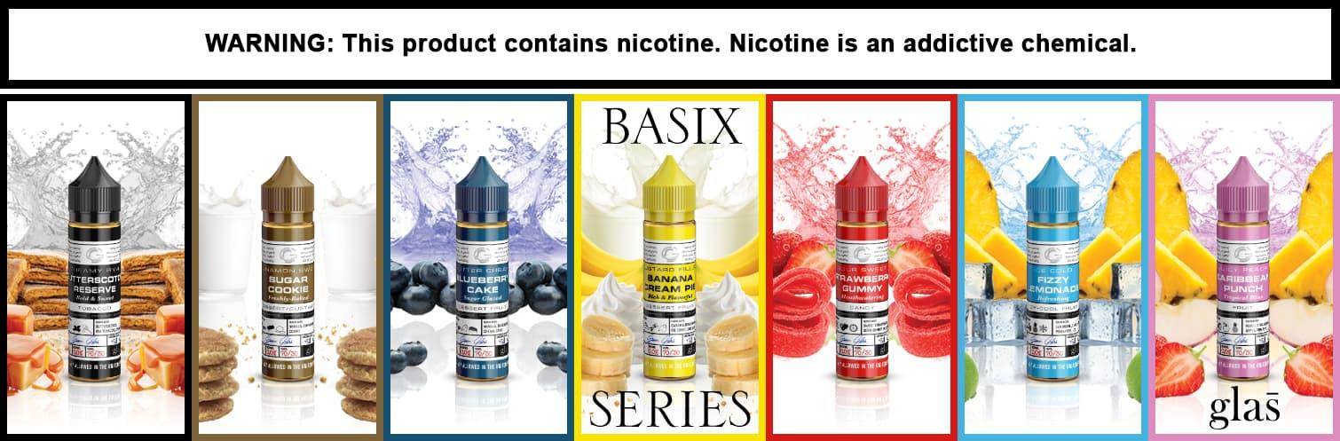 Glas Basix Series E-liquid 60ml