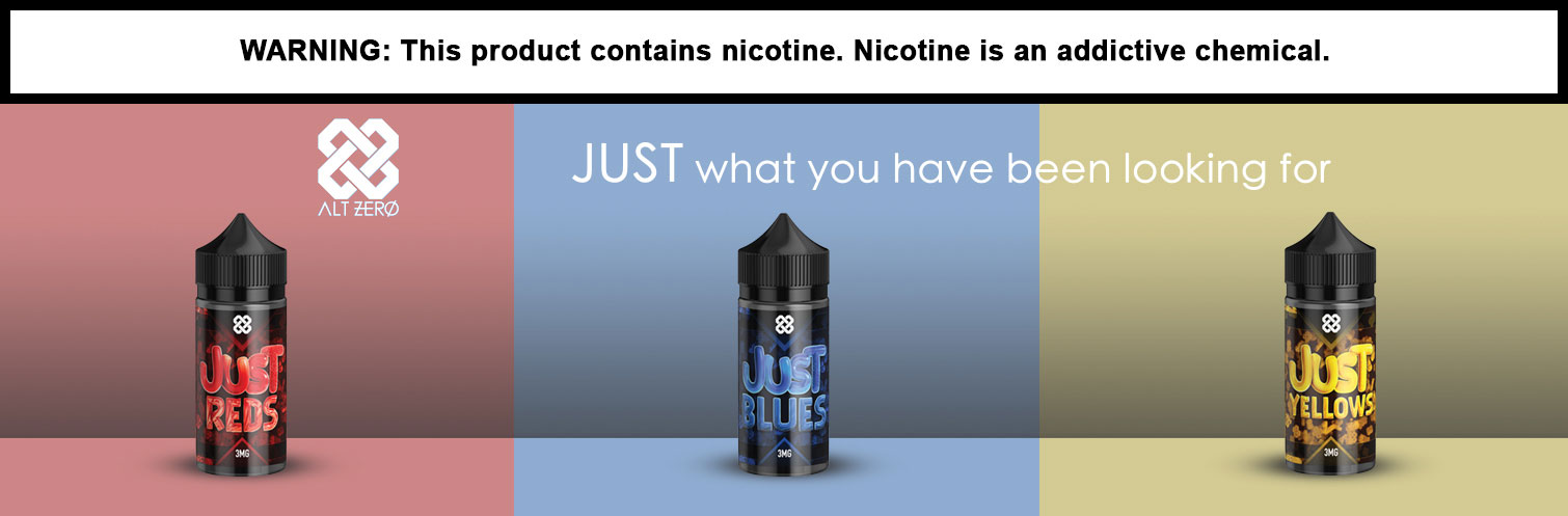 Just E-liquids by Alt Zero 100ml
