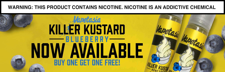 Killer Kustard Blueberry By Vapetasia E-Liquid BOGO