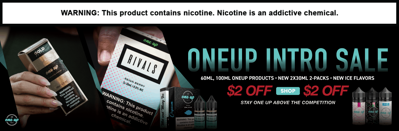One Up Vapor E-Liquid 100ML Sale