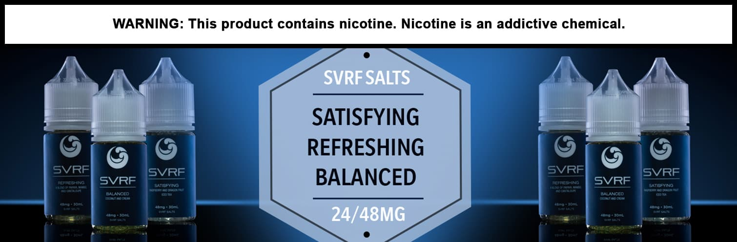 SVRF Salts 30ml by Saveurvape