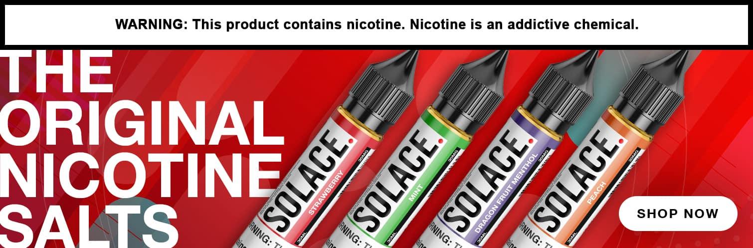Solace Salts Vapor Salt Nicotine E-Liquid 30ML