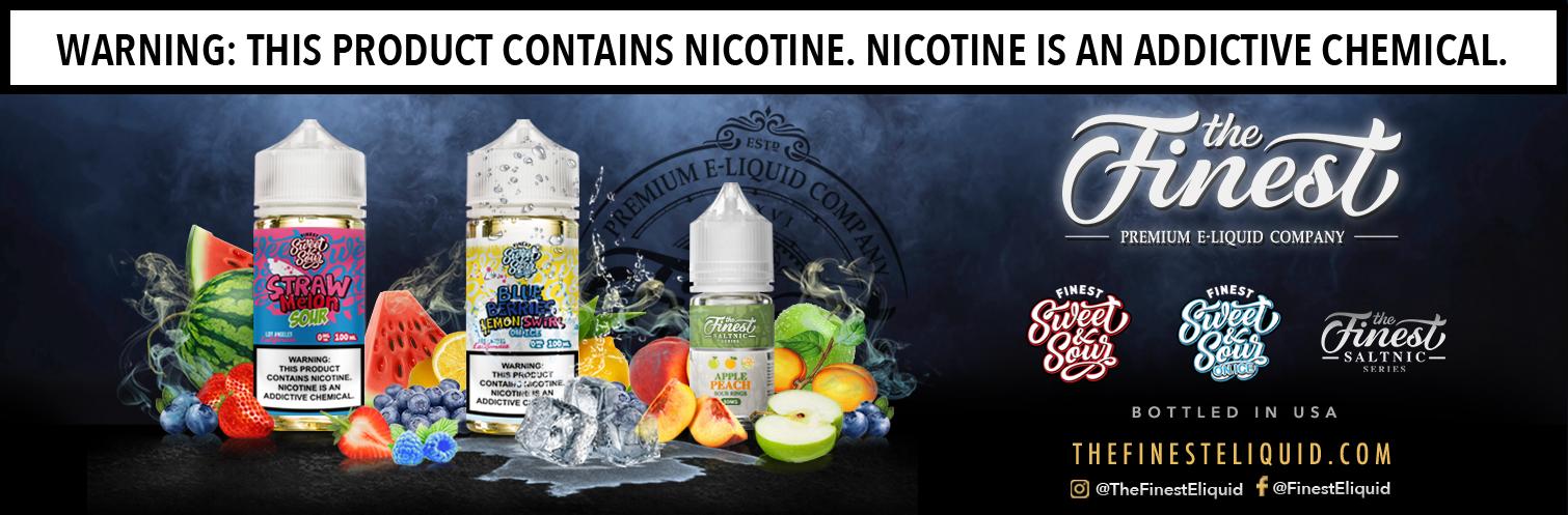 The Finest E-liquids & Nicotine Salts