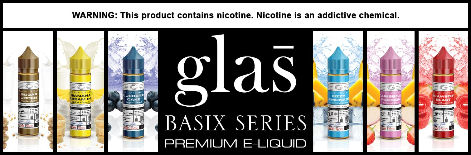 Basix Series eliquid 60ml by Glas Vapor