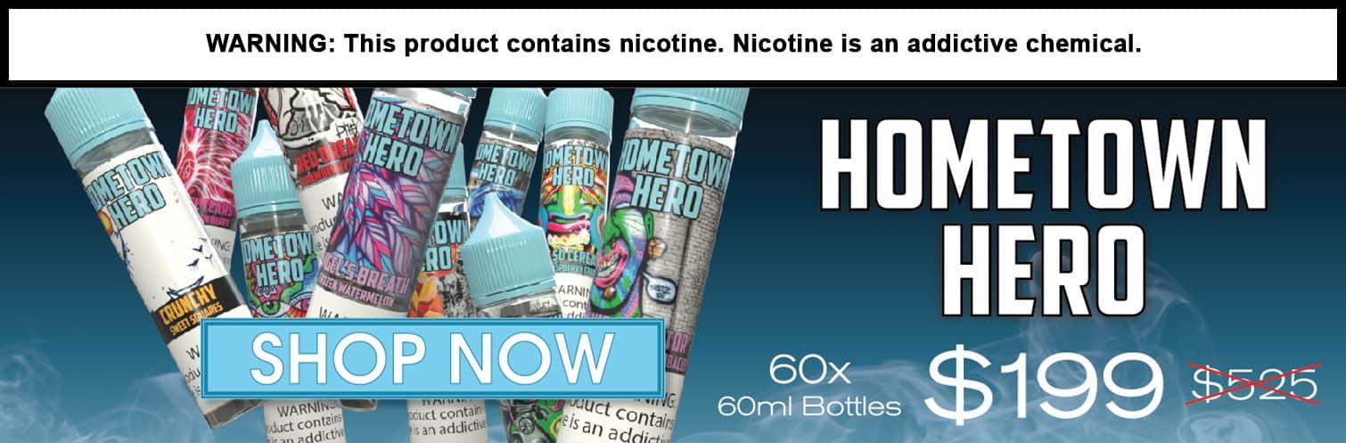 Hometown Hero 60 Bottle Starter Pack Deal