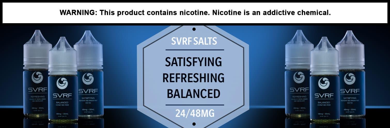 SVRF Salts Nicotine Salts E-Liquid 30ML