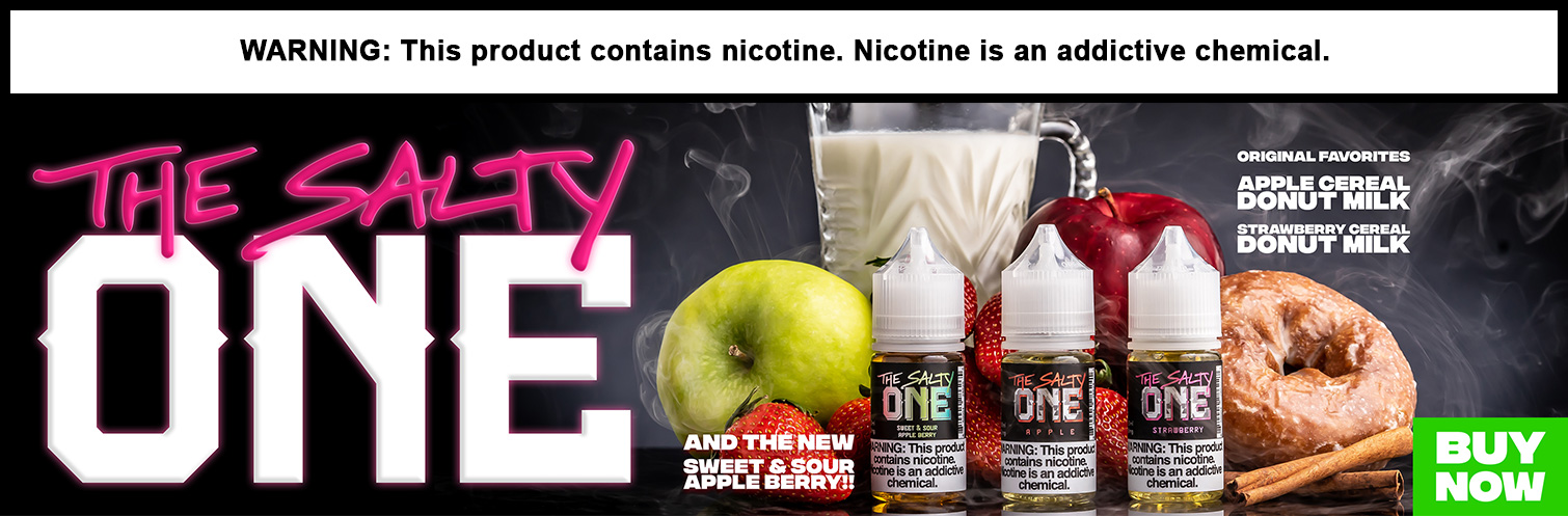 The Salty One Nicotine Salt E-Liquid 30ML