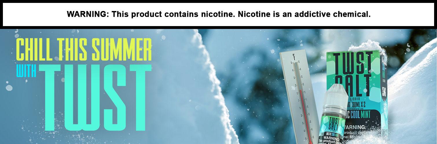 Twst Salt Nicotine Salt E-liquid Arctic Cool Mint