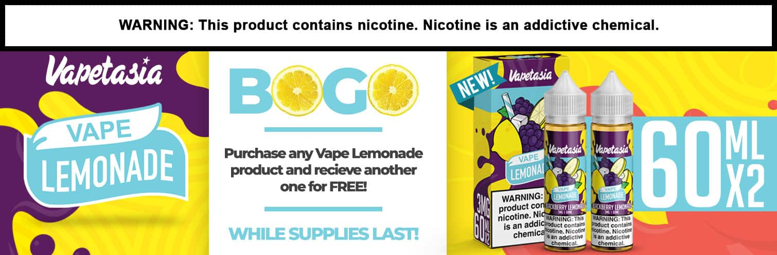 Vape Lemonade by Vapetasia BOGO
