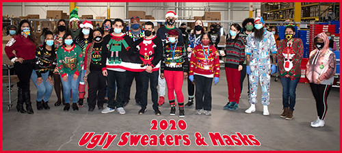Ugly Sweater & Masks 2020
