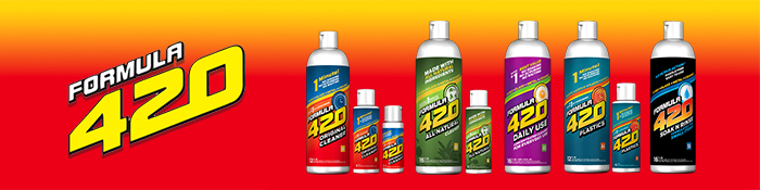 Formula 420 Glass Cleaner for Pipes, Bongs, and Hookahs