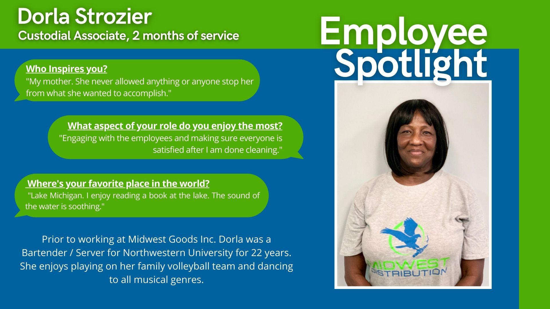 July 2021 Midwest Employee Spotlight