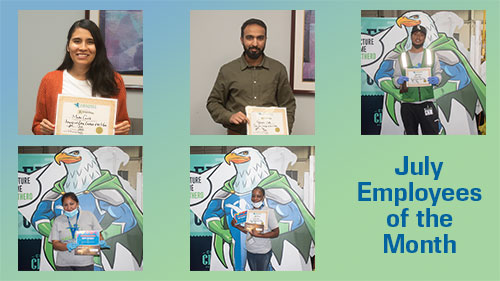 July 2020 Employees of the Month!