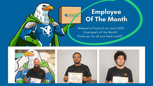 June 2020 Employees of the Month!
