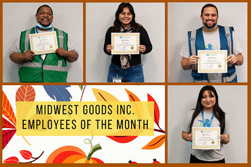 October 2020 Employees of the Month!