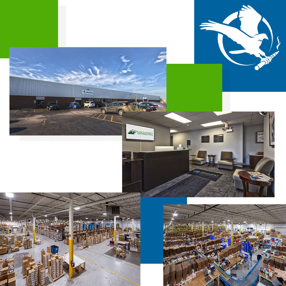 Midwest Goods Wholesale Vape Warehouse and Office