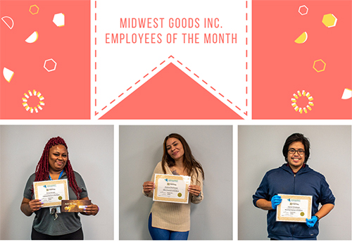 Midwest Goods September 2020 Employees of the Month