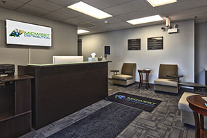 Midwest Goods Inc wholesale vape & smokeshop supplies distribution Lobby Front