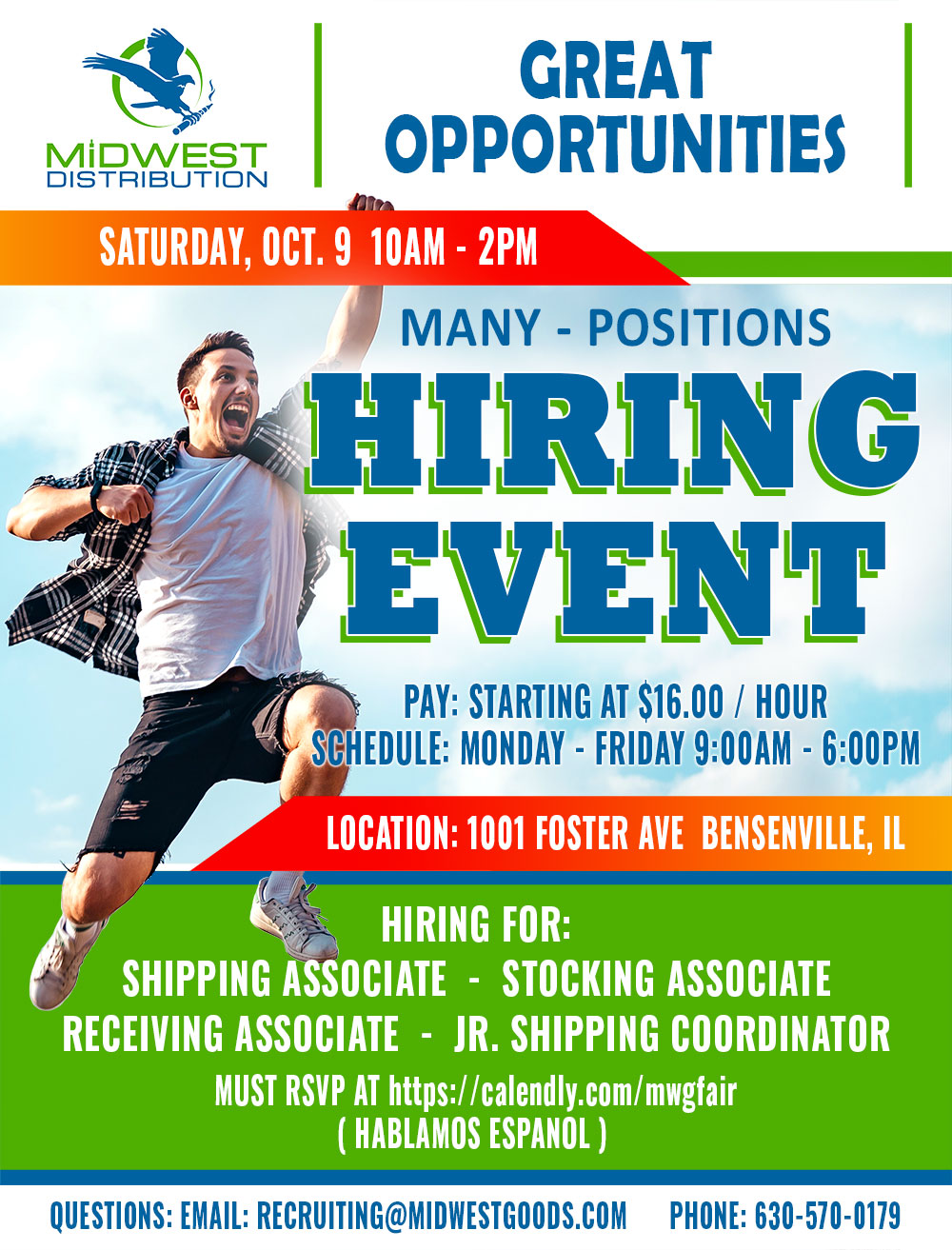 Hiring Event at Midwest Goods, Inc.