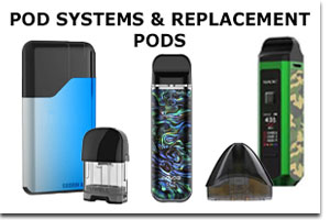 Wholesale Pod Systems & Replacement Pods - Vape Shop - Smoke Shop Supplies Distribution