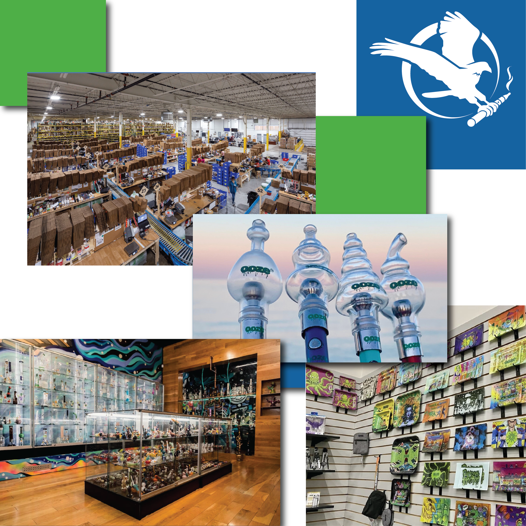 Wholesale Smoke Shop,Headshop, Dispensary Supply Midwest Goods Inc