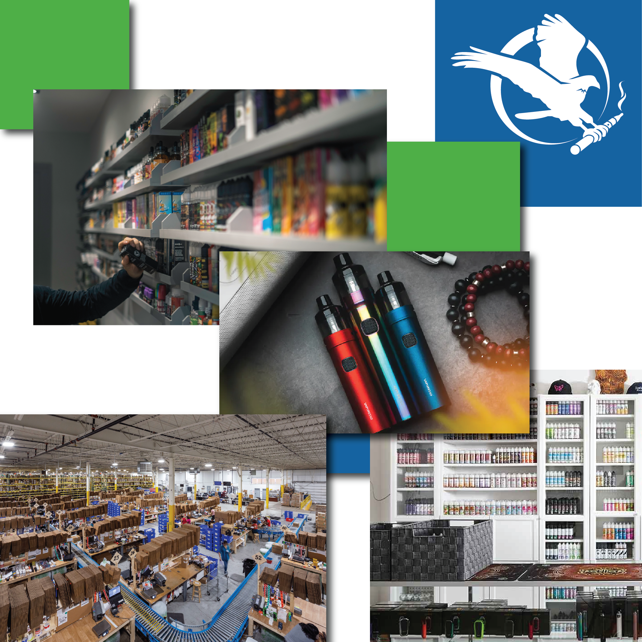 Wholesale Vape Supply Distribution, Eliquids, Devices & Accessories Midwest Goods Inc