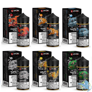 Shijin Vapor E-Liquid 100ML *Drop Ships* (MSRP $28 00)