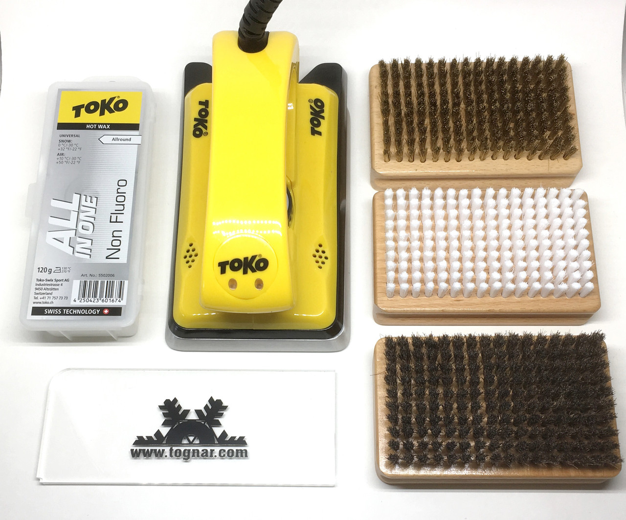 Tognar Ski Hot Wax Kit - 230V (For AU, NZ, EU)