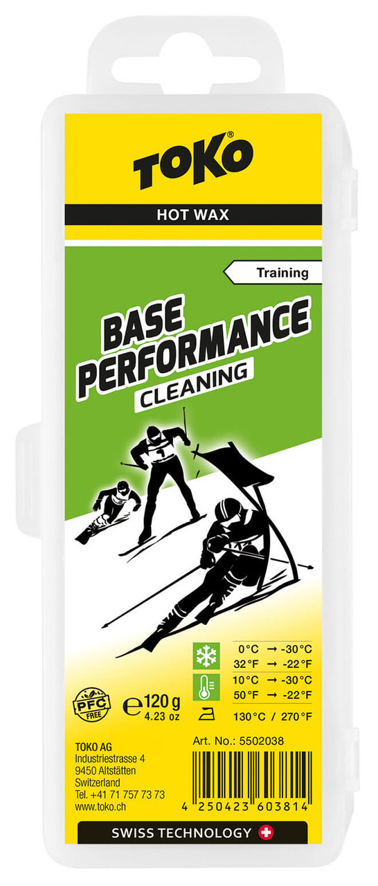 Toko Base Performance Cleaning Wax (120g)