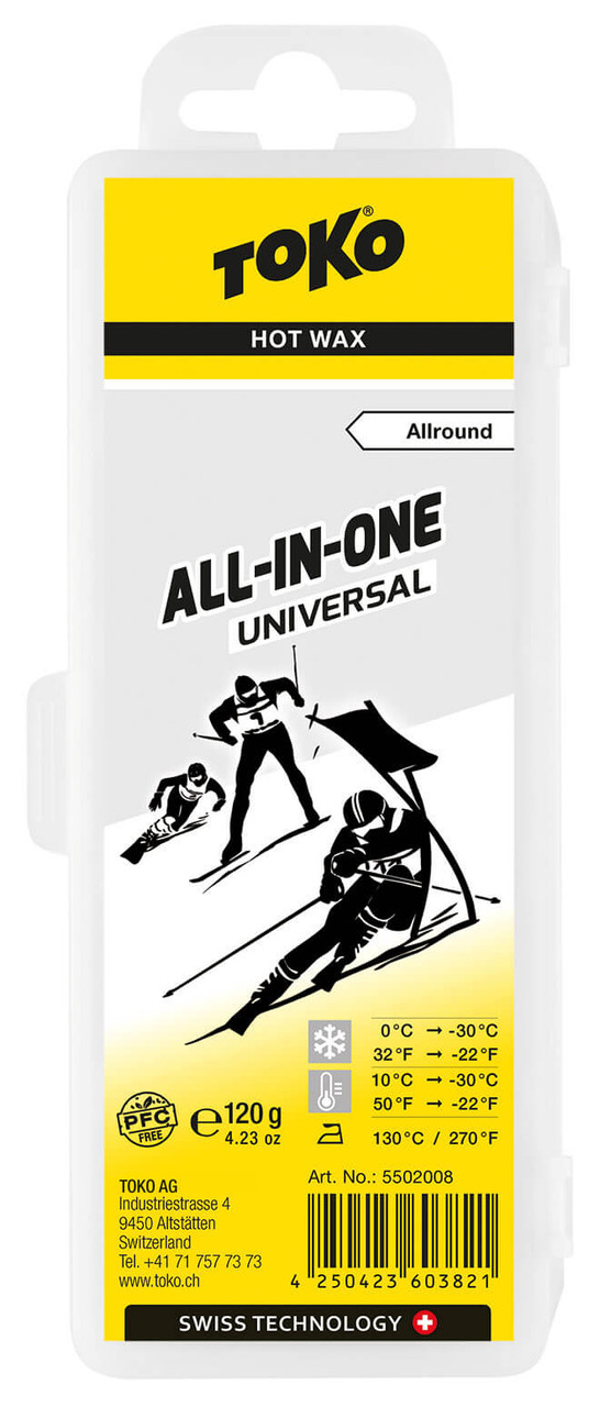 Toko All-in-One Universal Hot Wax (120g)