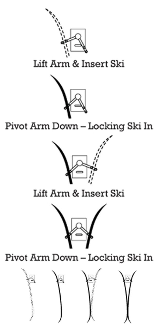 Rocker Ski Rack™ Diagram