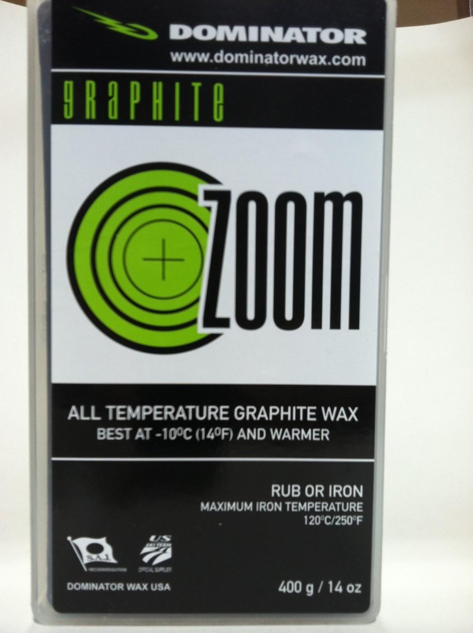 Dominator Universal Graphite Zoom Wax (400g)