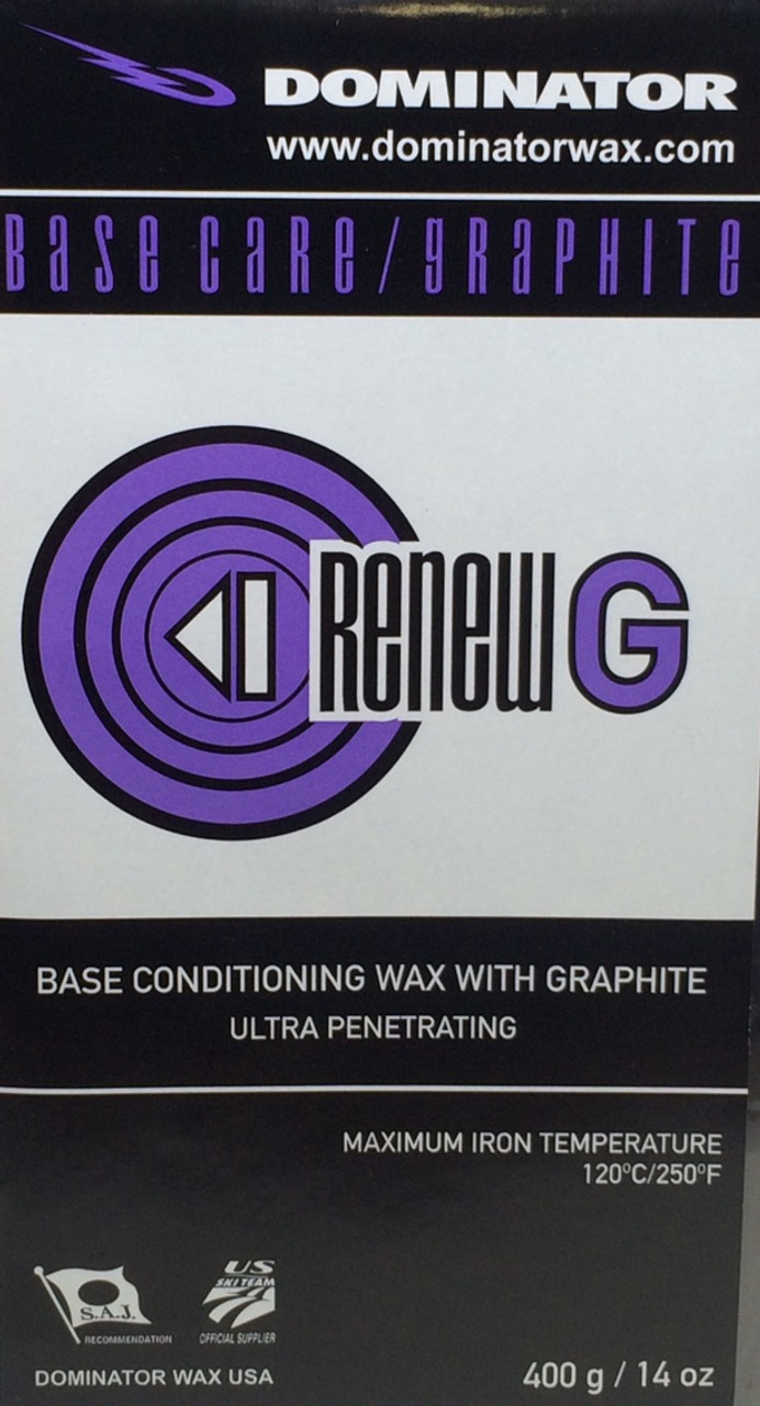 Dominator Graphite ReNew Base Prep Wax (400g)