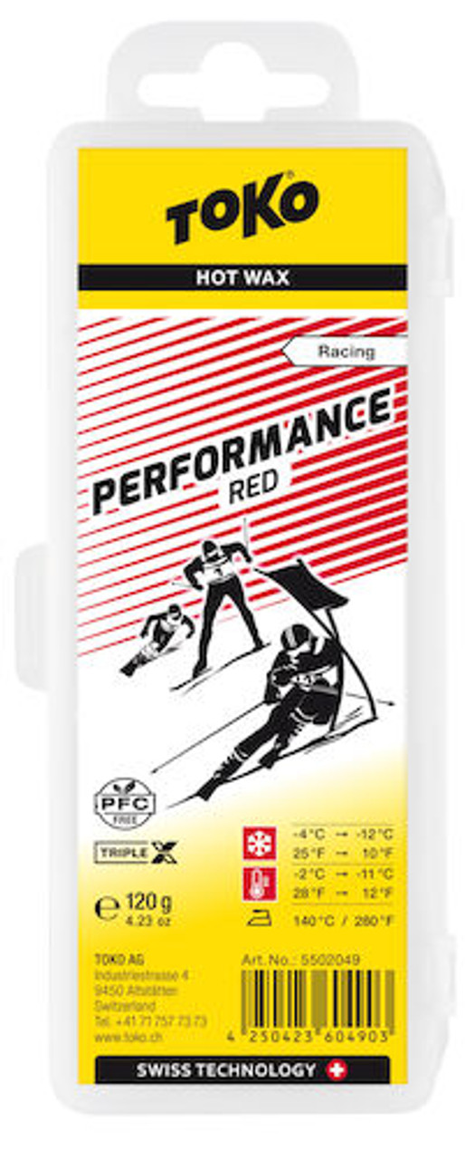toko fluoro free wax red 120g