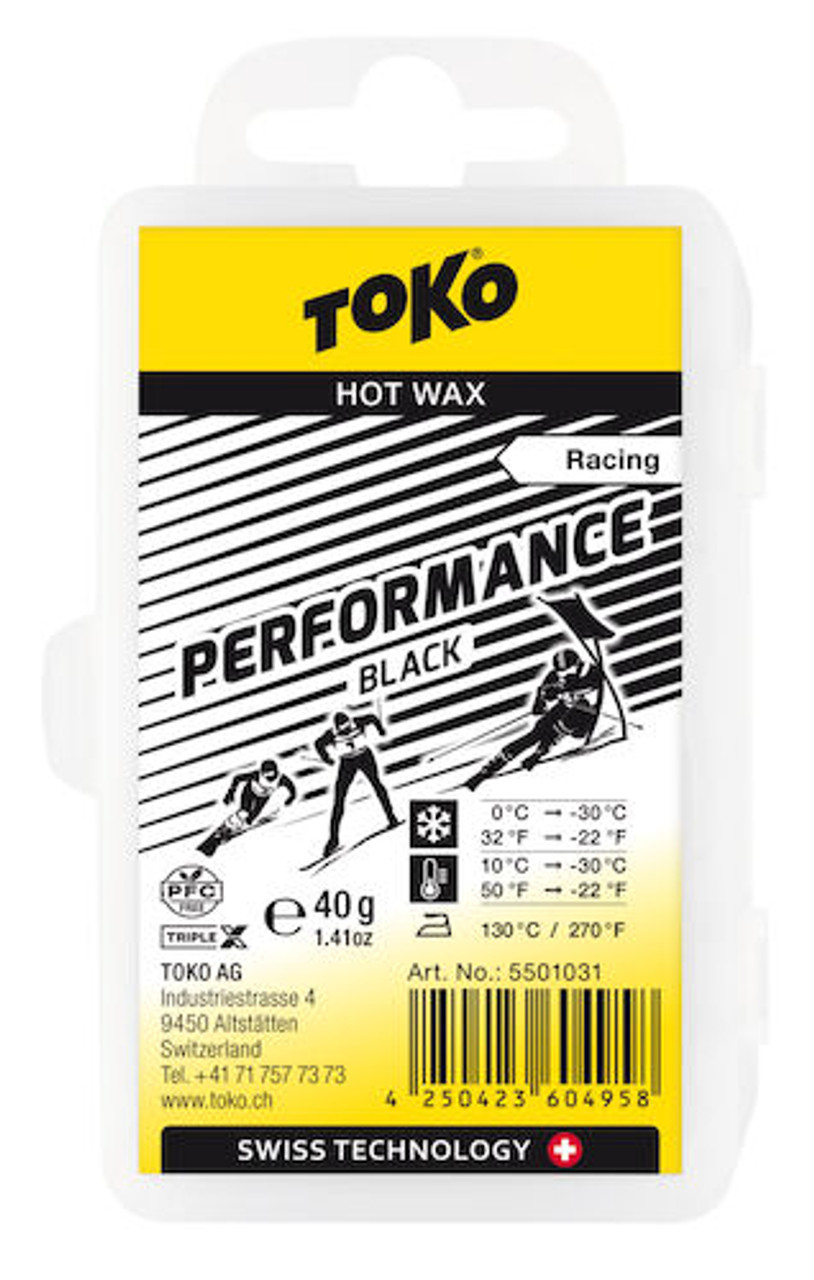 toko performance wax black fluoro free