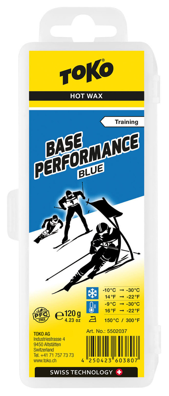 Toko Base Performance Hot Wax Blue (120g)