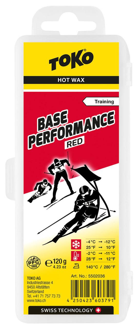 Toko Base Performance Hot Wax Red (120g)