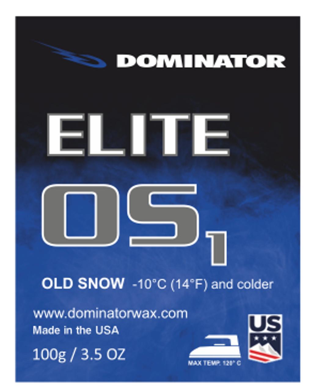 Dominator Elite Wax Old Snow OS2